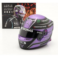 Casque Helmet 1/2 Lewis Hamilton F1 2021 Bell 4100106