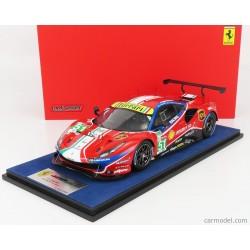 Ferrari 488 GTE Evo 51 24 Heures du Mans 2020 Looksmart LS18LM023