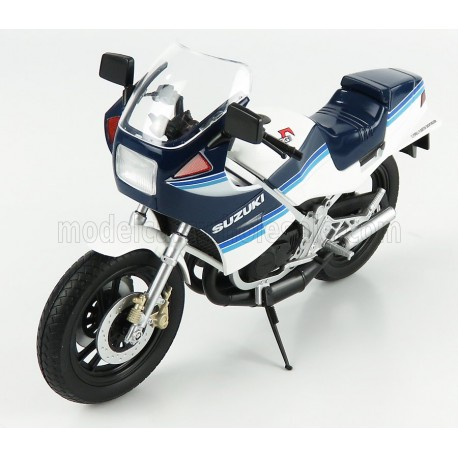 Suzuki RG250R 1983 White Blue LCD Model LCD106761