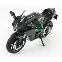 Kawasaki Ninja H2 2015 Black Carbon Green LCD Model LCD104569