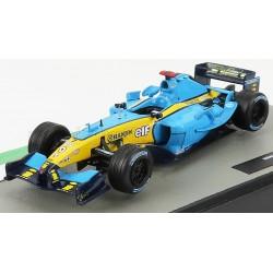 Renault R24 7 F1 2004 Jarno Trulli Edicola Edicola-COLL067