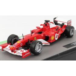 Ferrari F2004 2 F1 2004 Rubens Barrichello Edicola Edicola-COLL061