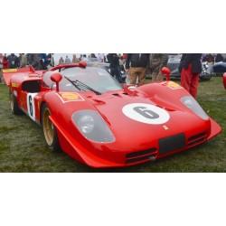Ferrari 512S 6 1000 km de Monza 1970 Looksmart LS1808F