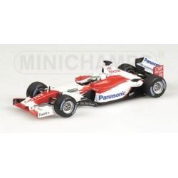 Toyota TF102 25 F1 2002 Alan McNish Minichamps 400020025