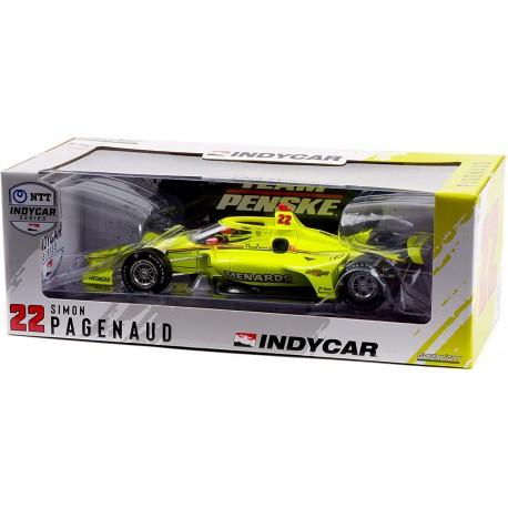 Chevrolet Dallara Penske Racing 22 IndyCar Series 2021 Simon Pagenaud Greenlight GL11108