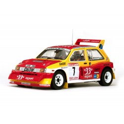 MG Metro 6R4 7 Champion de France 1986 Auriol - Occelli Sunstar SS5532