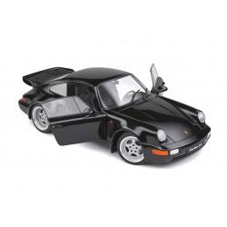 Porsche 911 964 Turbo 1993 Black Solido S1803404