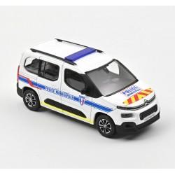 Citroen Berlingo Police Municipale 2020 White Blue Norev 155768