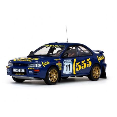 Subaru Impreza 555 10 Rallye de Nouvelle-Zélande 1994 Burns - Reid Sunstar SS5504