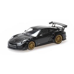 Porsche 911 (991.2) GT2 RS (Weissachpaket) Aurum Wheels 2018 Black Minichamps 410067291