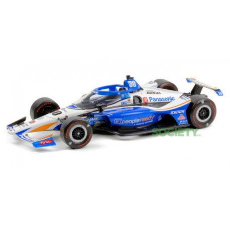 Honda Letterman Lanigan Racing 30 IndyCar Series Winner Indy 500 2020 Takuma Sato Greenlight GL11101