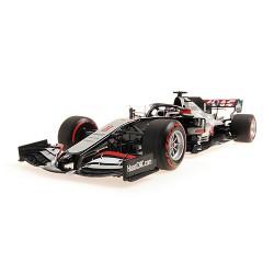 Haas Ferrari VF20 20 F1 Bahrain 2020 Romain Grosjean Last Race Minichamps 110201508