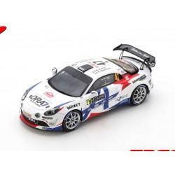 Alpine A110 RGT 47 Rallye Monte Carlo 2021 2ème RGT Astier - Vauclare Spark S6581