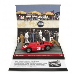 Ferrari D50 26 F1 Grand Prix d'Italie 1956 Juan Manuel Fangio Brumm S2110