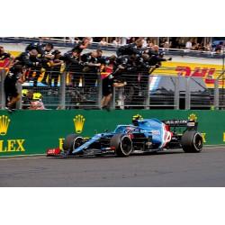 Alpine A521 31 F1 Winner Grand Prix de Hongrie 2021 Esteban Ocon Minichamps 417211231