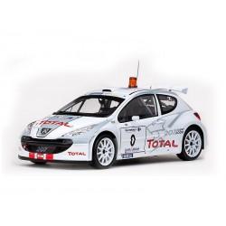 Peugeot 207 S2000 WRC 0 Rallye d'Antibes Cote d'Azur 2006 Panizzi - Delorme Sunstar SS5431