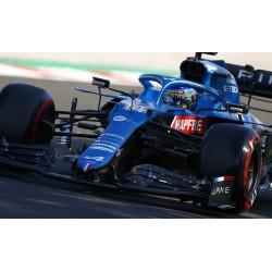 Alpine A521 14 F1 Grand Prix de Hongrie 2021 Fernando Alonso Minichamps 417211214