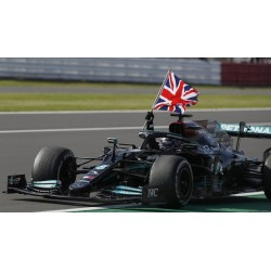 Mercedes AMG F1 W12 E Performance 44 F1 Winner Grand Prix d'Angleterre 2021 Lewis Hamilton Minichamps 410211144