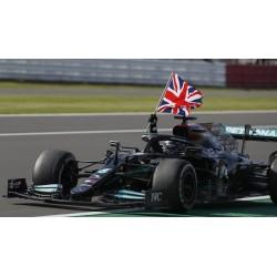 Mercedes AMG F1 W12 E Performance 44 F1 Winner Grand Prix d'Angleterre 2021 Lewis Hamilton Minichamps 110211144