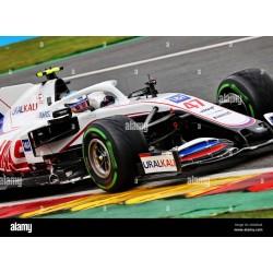 Haas Ferrari VF-21 47 F1 Grand Prix de Belgique 2021 Mick Schumacher Minichamps 417211347