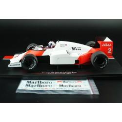 McLaren MP4/2B 2 F1 Monaco 1985 Alain Prost MCG MCG18606