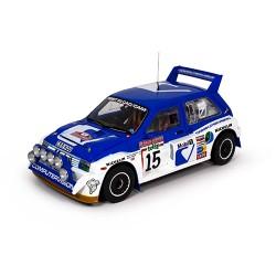 MG Metro 6R4 15 Rallye de San Remo 1986 Wilson - Harris Sunstar SS5533