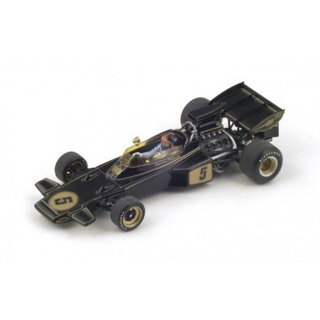 Lotus 72D F1 Espagne 1972 Winner Emerson Fittipaldi Spark S4282