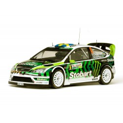 Ford Focus RS WRC08 6 Rallye de Bulgarie 2010 Andersson - Andersson Sunstar SS3951