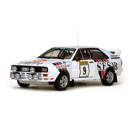 Audi Quattro A2 9 Rallye des Milles Lacs 1983 Eklund - Sputh Sunstar SS4230
