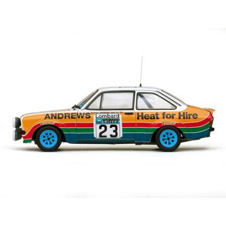Ford Escort RS1800 23 RAC Rallye 1977 Brookes - Brown Sunstar SS4460