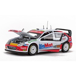 Citroen Xsara WRC 8 Bologne Motorshoww Rallysprint 2008 Kris Meeke Sunstar SS4472