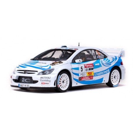 Peugeot 307 WRC 5 Rallye du Var 2011 Sarrazin - Renucci Sunstar SS4699