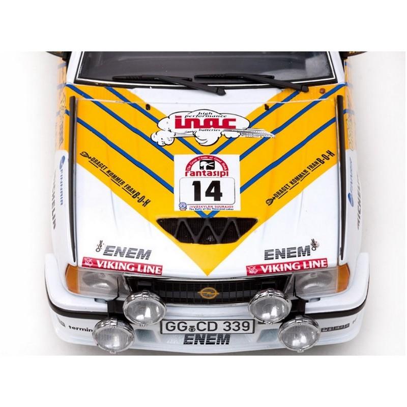 Opel ascona 400 rally 14 rallye des milles lacs 1980 for Garage des milles lacs