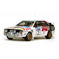 Audi Quattro A2 3 RAC Rallye 1984 Mikkola - Hertz Sunstar SS4240