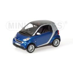 Smart Fortwo Coupé 2007 Bleue Minichamps 150036300