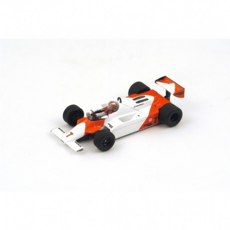 McLaren MP4/1 F1 Angleterre 1981 Winner John Watson Spark S4300