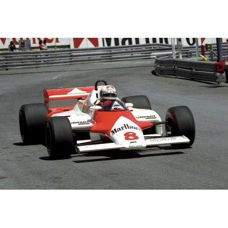McLaren MP4/1 F1 Monaco 1981 Andrea de Cesaris Spark S4301