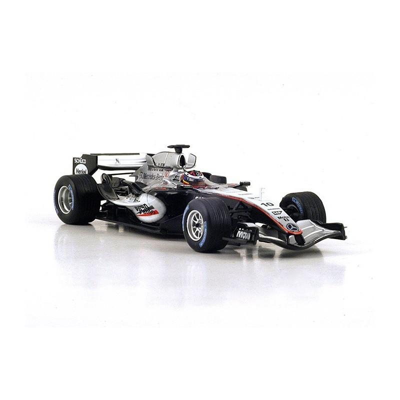 mclaren mp4 20 f1 angleterre 2005 juan pablo montoya spark s4304 miniatures minichamps. Black Bedroom Furniture Sets. Home Design Ideas