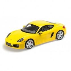 Porsche Cayman 2013 Jaune Minichamps 110062220