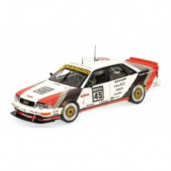 Audi V8 Quattro 45 DTM 1991 Frank Biela Minichamps 100911045