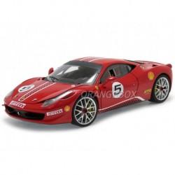 Ferrari 458 Italia Challenge Rouge Hotwheels MX5486