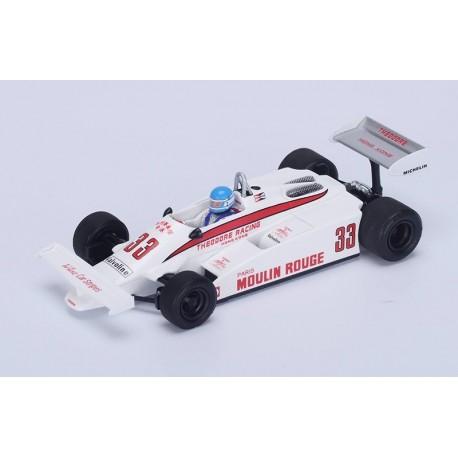Theodore TY01 F1 Long Beach 1981 Patrick Tambay Spark S4317