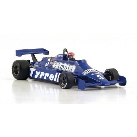 Tyrrell 010 F1 Monaco 1981 Eddie Cheever Spark S4319