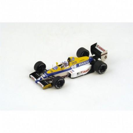 Williams FW12C F1 USA 1989 Riccardo Patrese Spark S4321
