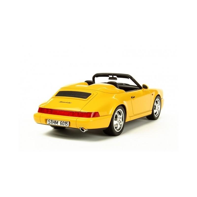 porsche 911 type 964 speedster 1993 jaune gt spirit gt008 miniatures minichamps. Black Bedroom Furniture Sets. Home Design Ideas