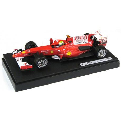 Ferrari F10 F1 2010 Felipe Massa Hotwheels MT6288