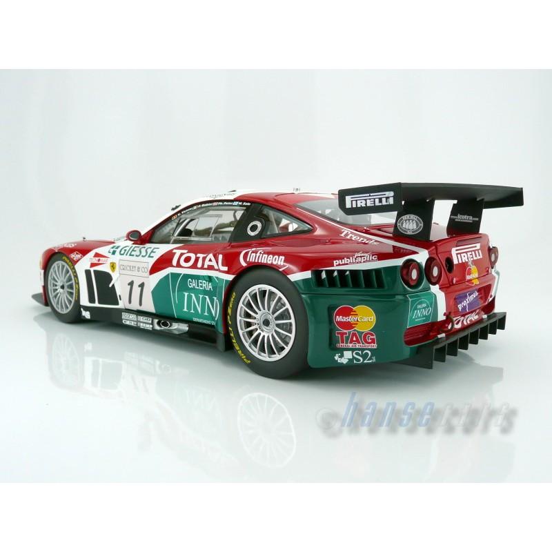 Ferrari 575 Gtc 11 24 Heures De Spa Francorchamps 2004 Kyosho