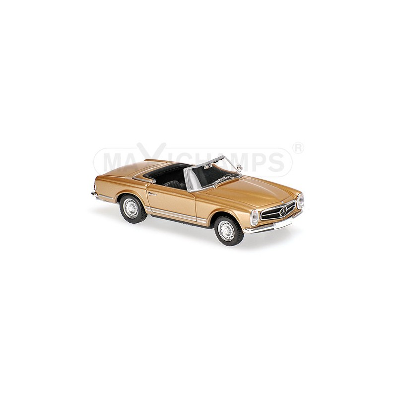 Mercedes benz 230 sl 1965 gold maxichamps 940032230 for Mercedes benz family discount