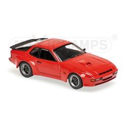 Porsche 924 GT 1981 Rouge Maxichamps 940066120
