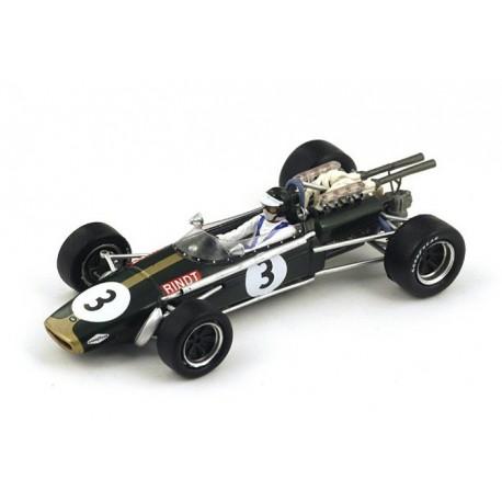 Brabham BT24 F1 Afrique du Sud 1968 Jochen Rindt Spark S4337